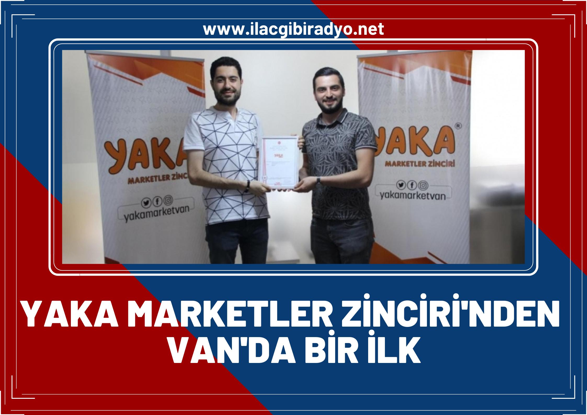 Van'da ilk sanal market hizmetini kuruldu! 'Yaka Ekspres Sanal Market'