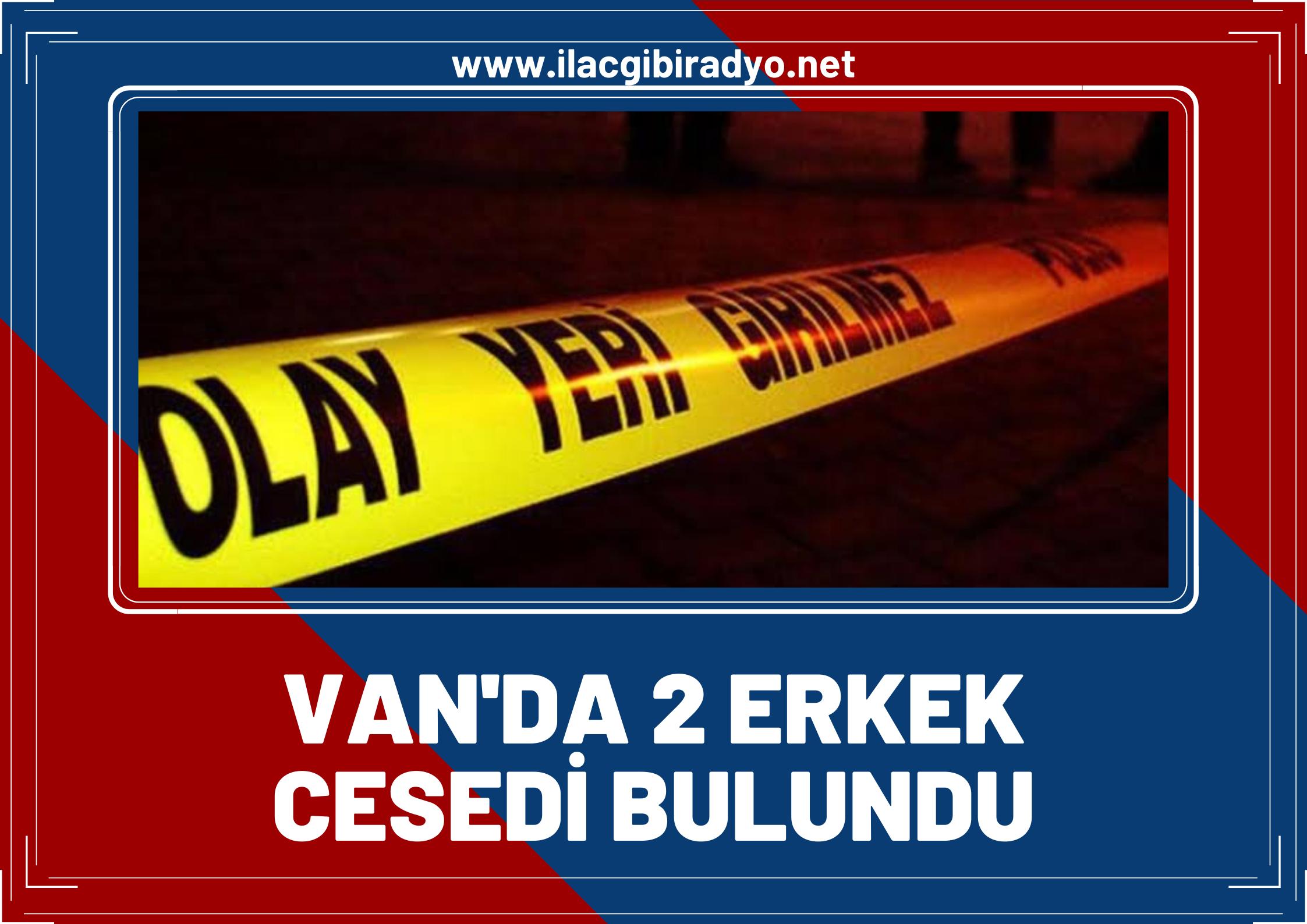 Van'da düzensiz göçmene ait 2 erkek cesedi bulundu!