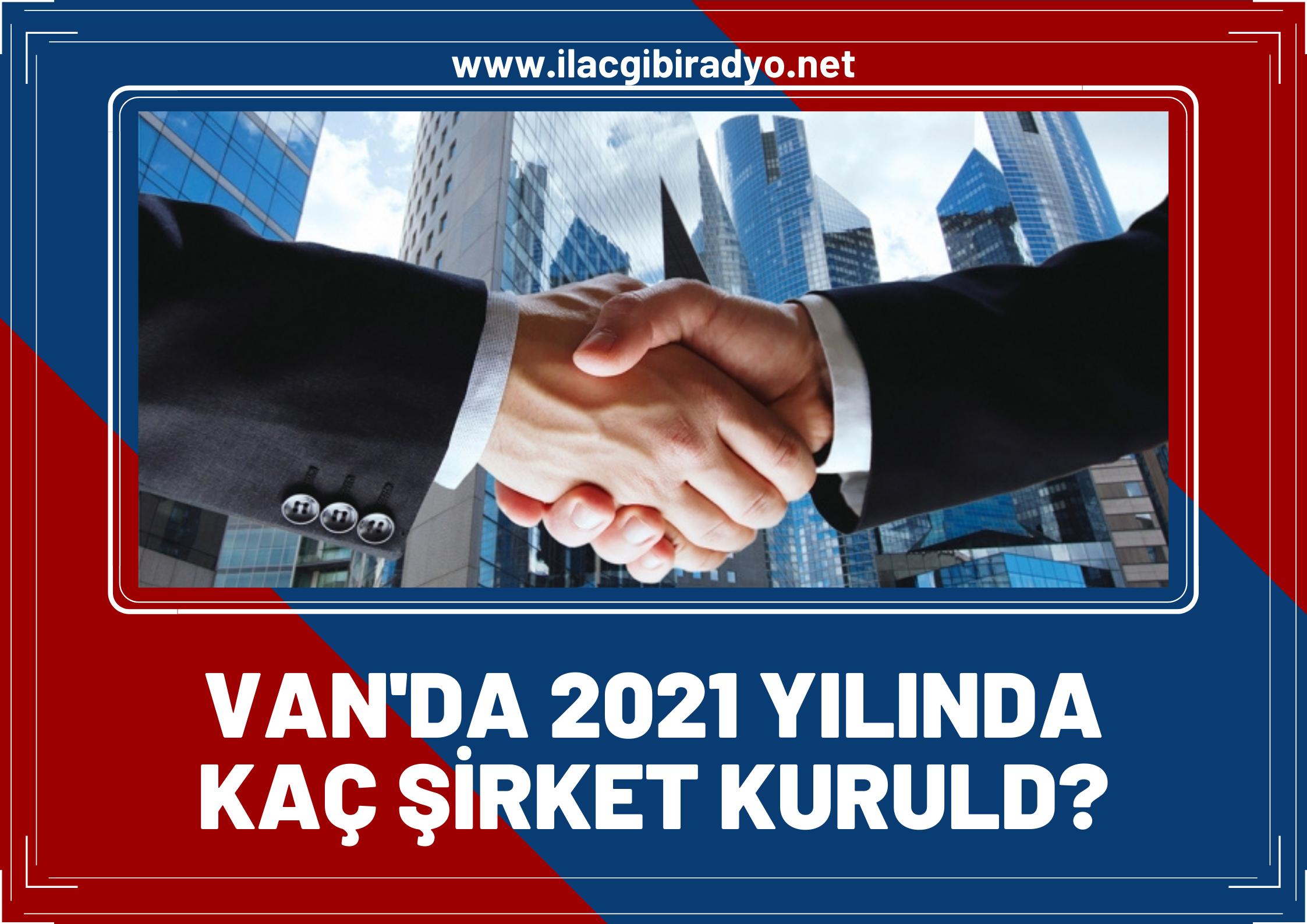 TOBB, 2021 Mayıs ayında Van'da kurulan şirket sayısını açıkladı!
