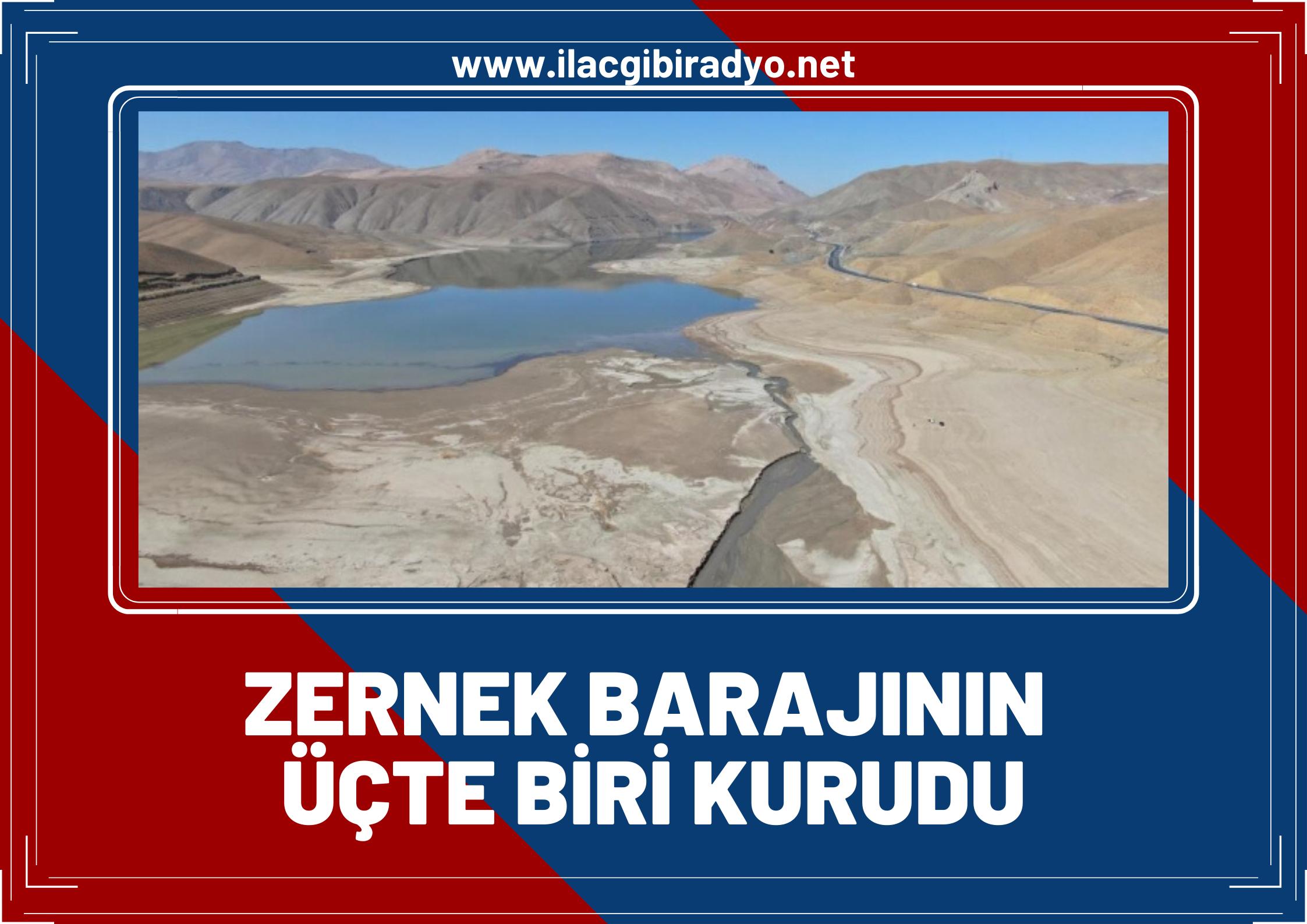Van'da etkisini iyice hissettiren kuraklık, göl ve barajların su seviyesini dibe indirdi