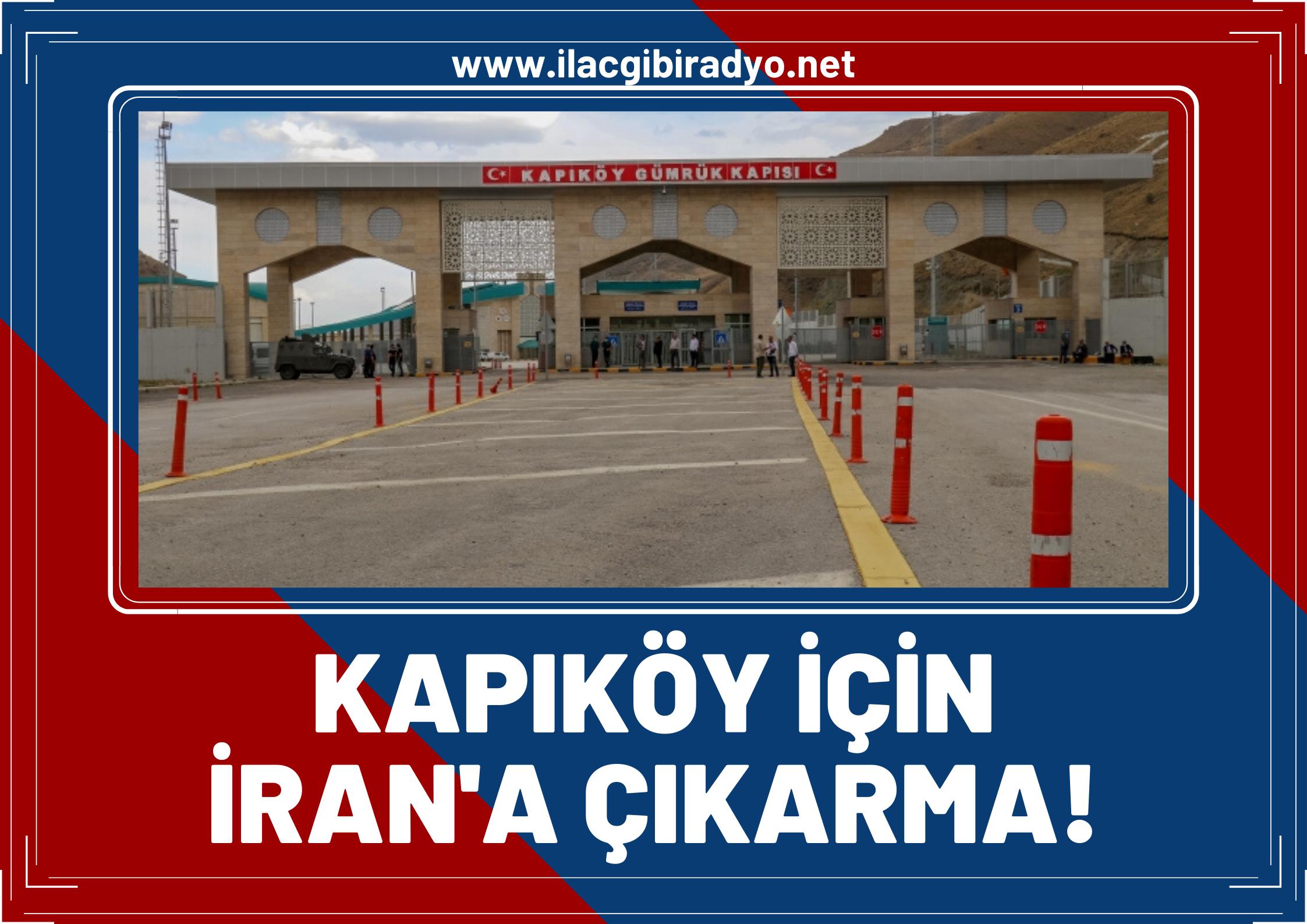 Van'dan bir heyet Kapıköy için İran'a gidecek