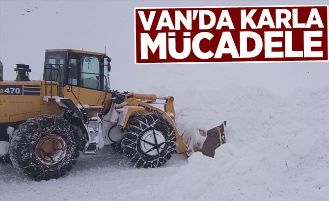 Van'da karla mücadele