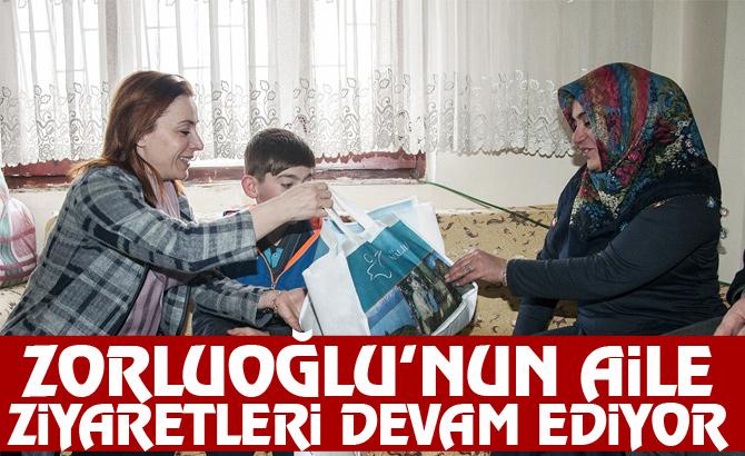 Zorluoğlu'nun aile ziyaretleri devam ediyor