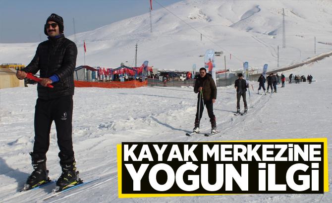 Kayak Merkezine yoğun ilgi