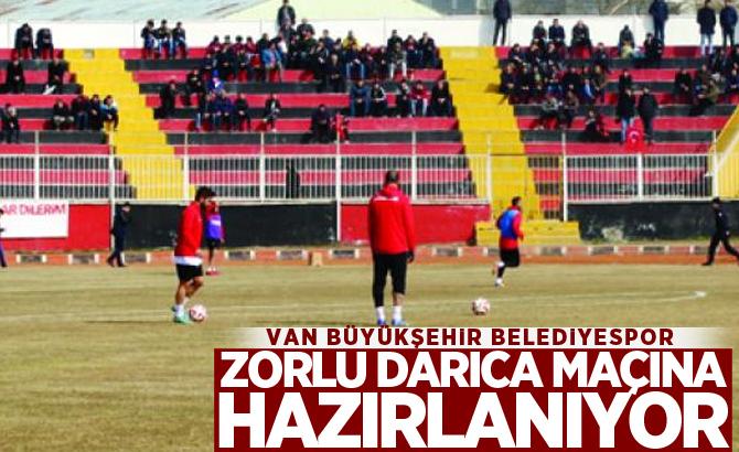 Van Büyükşehir Belediyespor, zorlu Darıca maçına hazırlanıyor