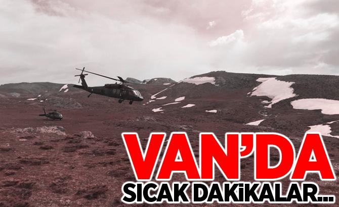 Van'da tespit edilen 6 adet sığınak imha edildi