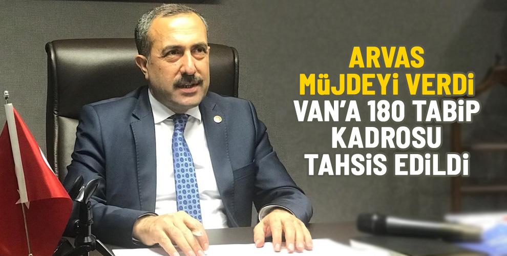 VAN'A 180 TABİP KADROSU TAHSİS EDİLDİ