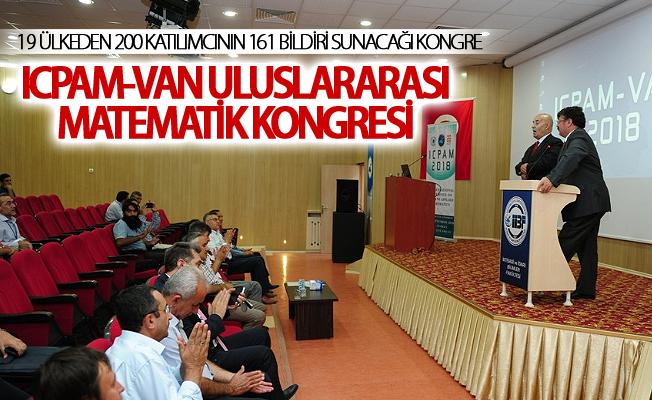 19 ülkeden 200 katılımcının 161 bildiri sunacağı kongre 3 gün sürecek