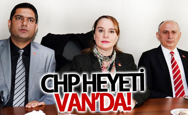 CHP heyeti Van'da