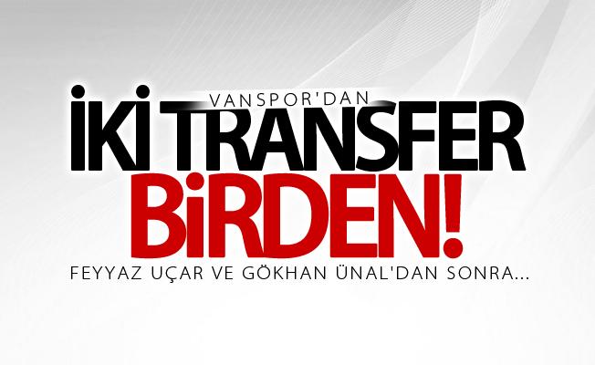 Van Büyükşehir Belediyespor'dan 2 transfer birden!