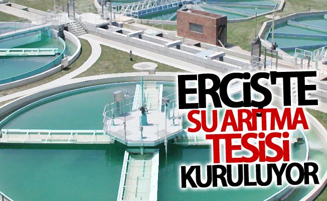 Erciş'te su arıtma tesisi kuruluyor