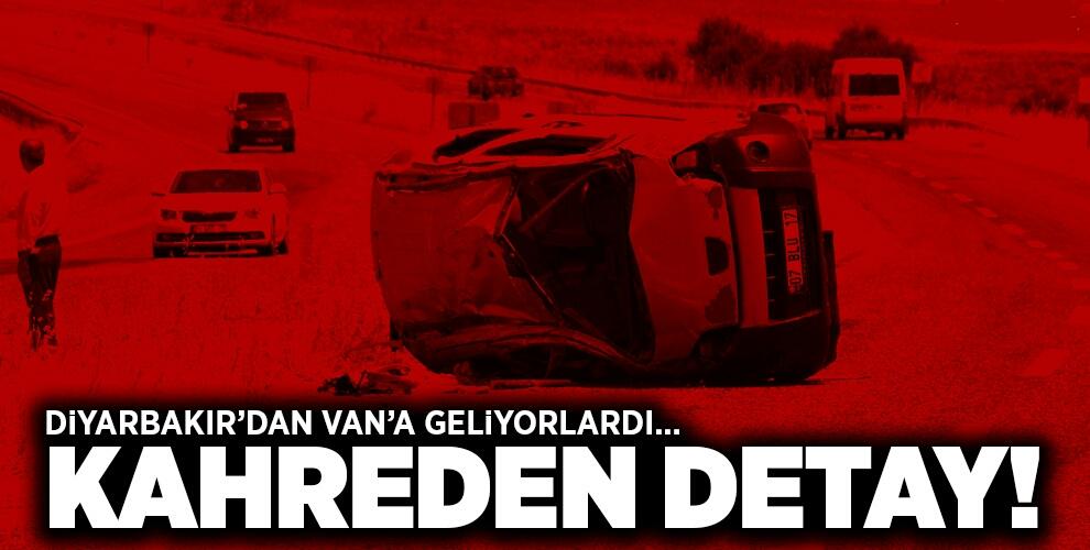 DİYARBAKIR'DAKİ KAZADA KAHREDEN DETAY