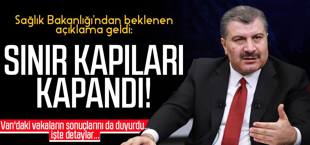 Flaş! Türkiye'nin İran ile olan sınır kapıları kapandı!