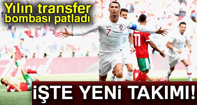 Cristiano Ronaldo'nun yeni takımı belli oldu