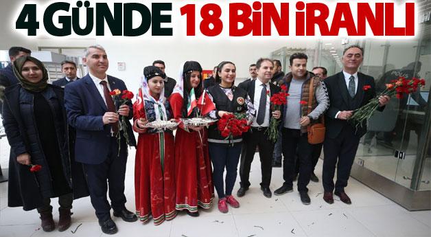 4 günde 18 bin İranlı geldi