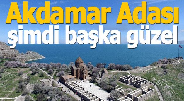 Akdamar Adası şimdi başka güzel
