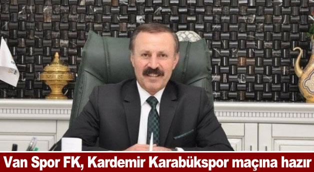Van Spor FK, Kardemir Karabükspor maçına hazır