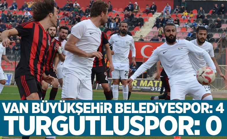 Turgutluspor: 0 - Van Büyükşehir Belediyespor: 4