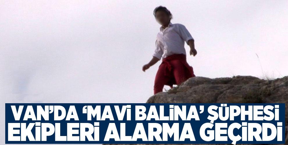 'Mavi Balina' şüphesi ekipleri alarma geçirdi