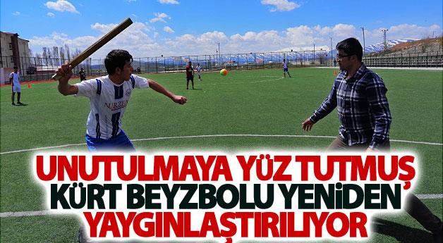 Unutulmaya yüz tutmuş Kürt beyzbolu yeniden yaygınlaştırılıyor