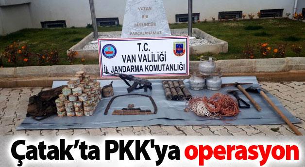 Çatak'ta PKK'ya operasyon