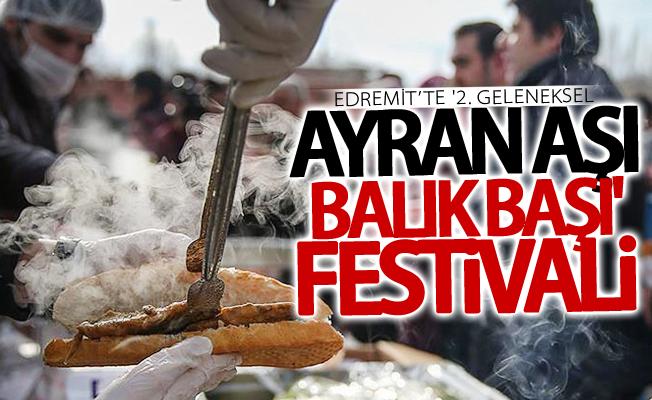 '2. Geleneksel Ayran Aşı Balık Başı' festivali