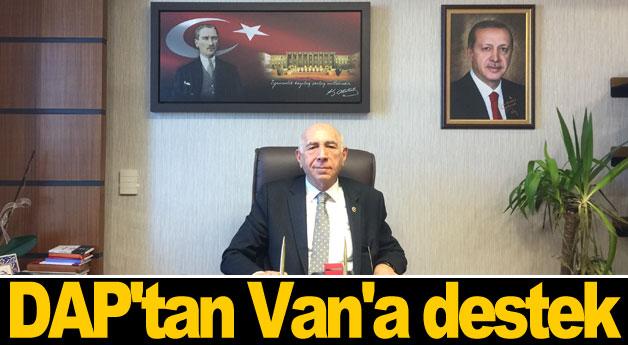 DAP'tan Van'a destek