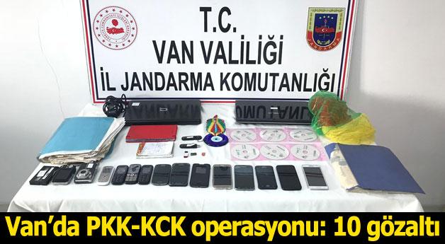 Van'da PKK-KCK operasyonu: 10 gözaltı