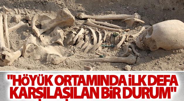 Van'da Urartu'nun son kadınlarına ait mezar bulundu