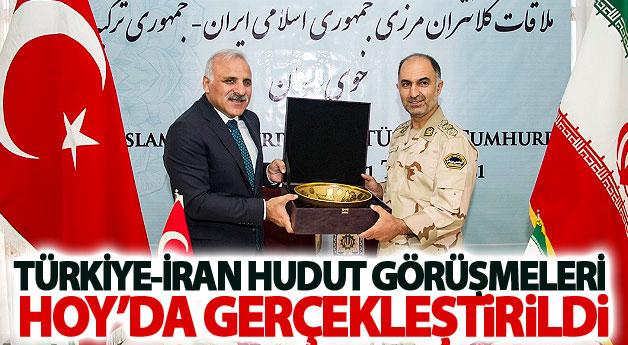 Türkiye-İran hudut görüşmeleri Hoy'da gerçekleştirildi