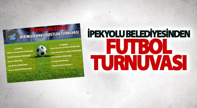 İpekyolu Belediyesinden futbol turnuvası