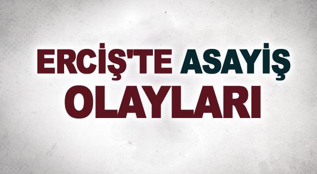 Erciş'te asayiş olayları