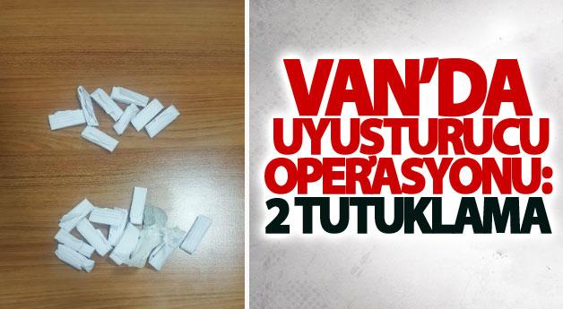 Van'da uyuşturucu operasyonu: 2 tutuklama