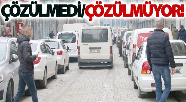 Van'da trafik sıkışıklığı her geçen gün artıyor