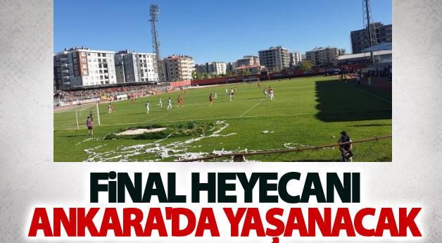 Final heyecanı Ankara'da yaşanacak