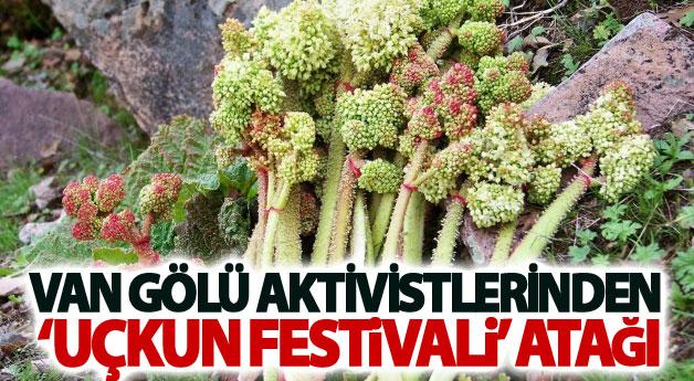 Van Gölü Aktivistlerinden 'Uçkun Festivali' atağı