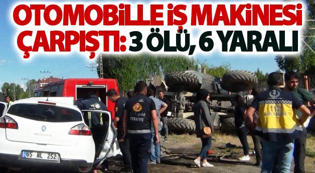 Van'da feci kaza : 3 ölü, 6 yaralı
