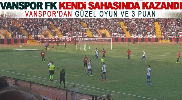 Vanspor FK Kendi Sahasında kazandı