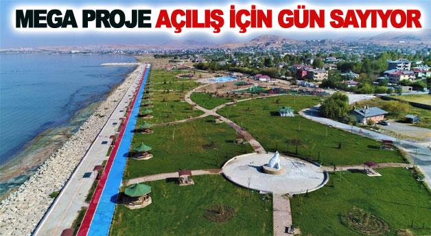 Tuşba Belediyesi'nin mega projesi açılış için gün sayıyor
