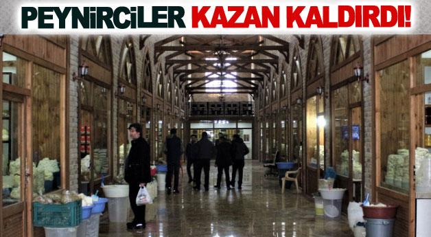 Peynirciler Kazan kaldırdı!
