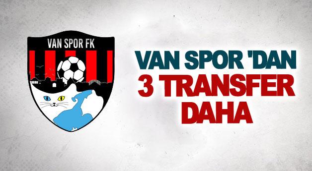 Van Spor FK'den 3 transfer daha