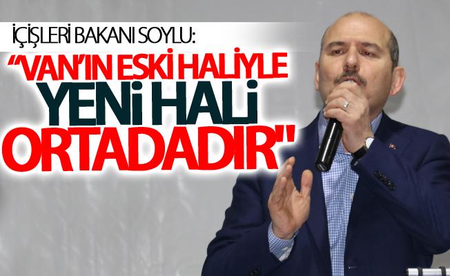 İçişleri Bakanı Süleyman Soylu Van'da