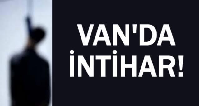 Van'da Bir Genç İntihar Etti
