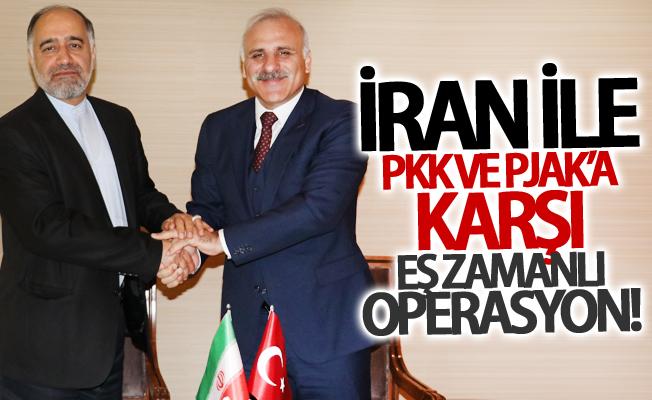 İran ile PKK ve PJAK'a karşı eş zamanlı operasyon