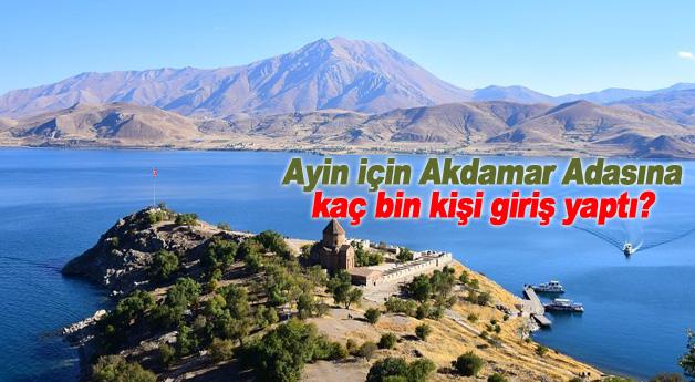 Ayin için Akdamar Adasına kaç bin kişi giriş yaptı