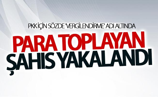 PKK için sözde 'vergilendirme' adı altında....
