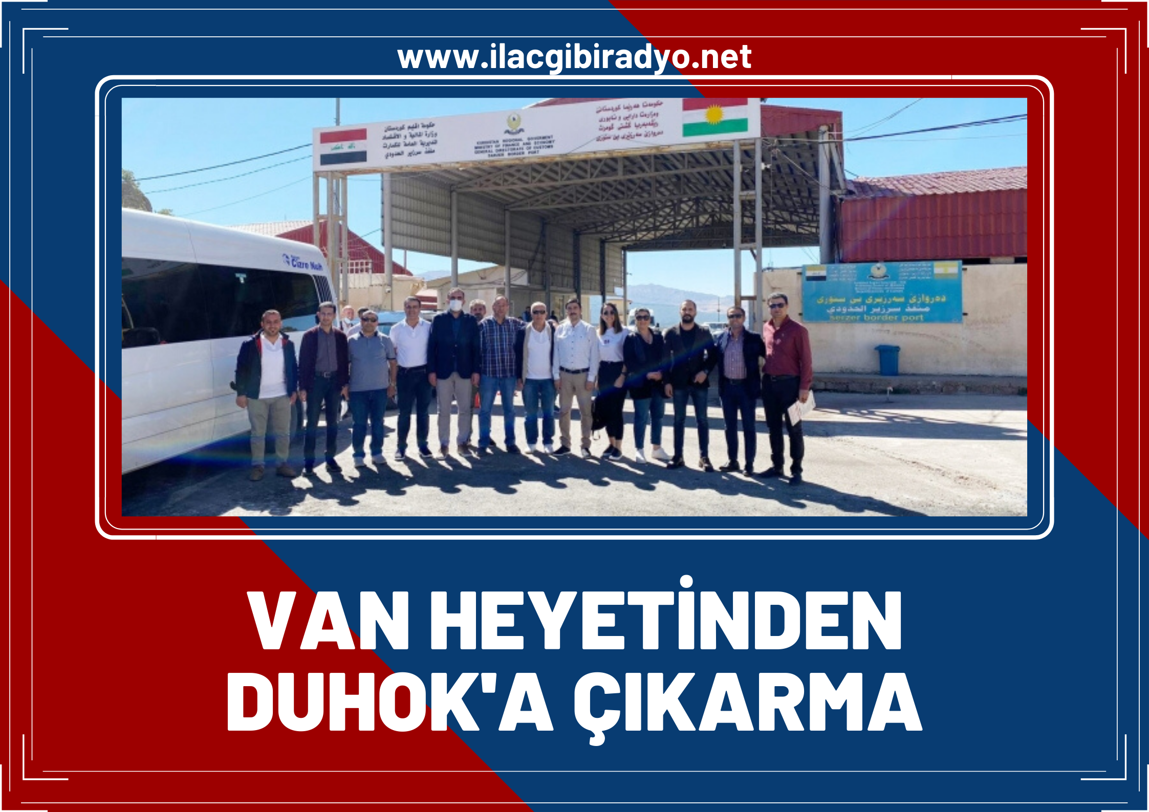 Van heyeti Duhok'a 'turizm' çıkarması yaptı