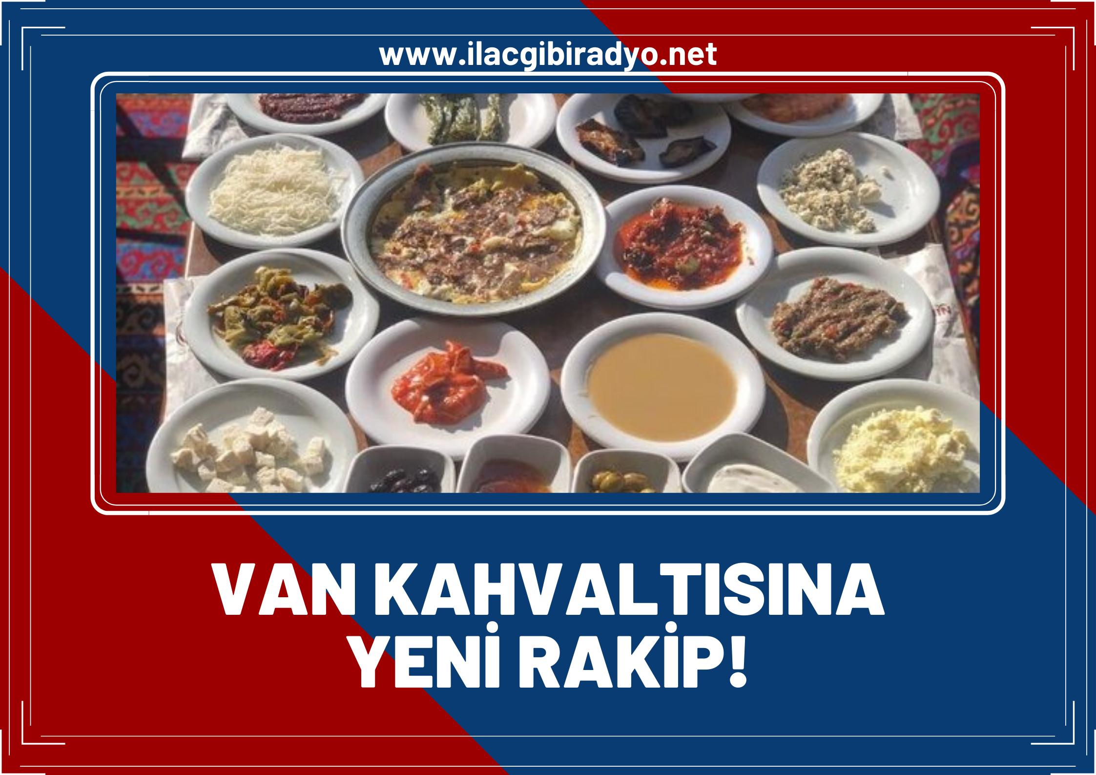 """Van kahvaltısına yeni rakip! """"Diyarbakır kahvaltısı, Van'ı geride bıraktı"""""""