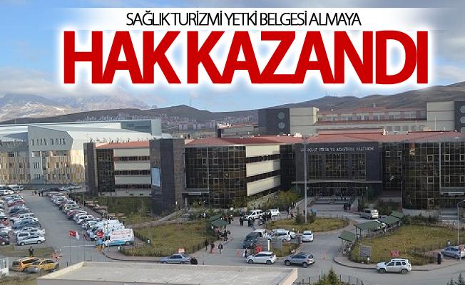 SBÜ Van Eğitim ve Araştırma Hastanesi sağlık turizmi yetki belgesi almaya hak kazandı
