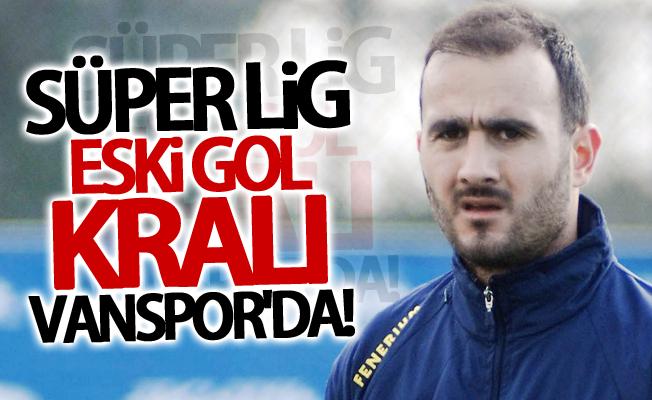 Süper Lig eski gol kralı Vanspor'da!